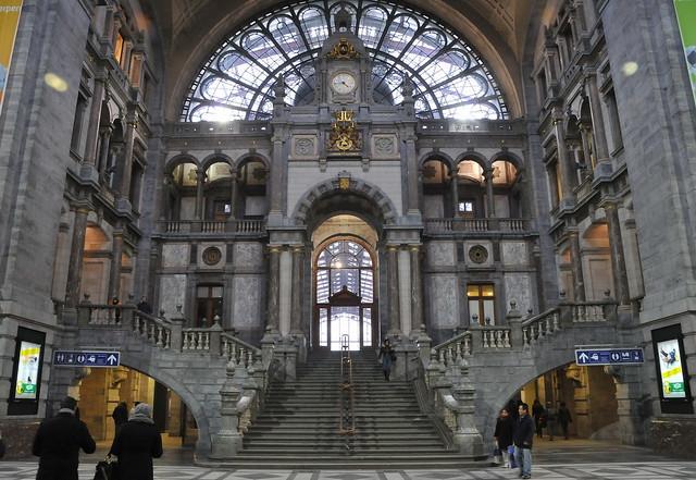 Antwerpen Centraal An Architectural Gem