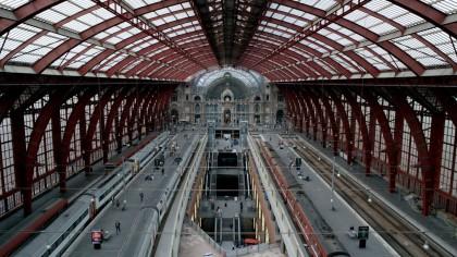 Antwerpen centraal Railway Station
