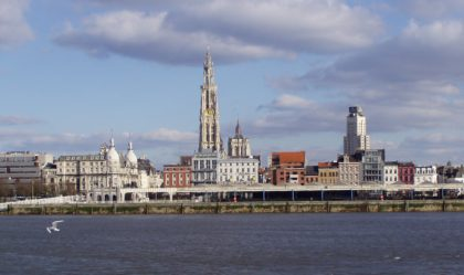 Skyline Antwerp