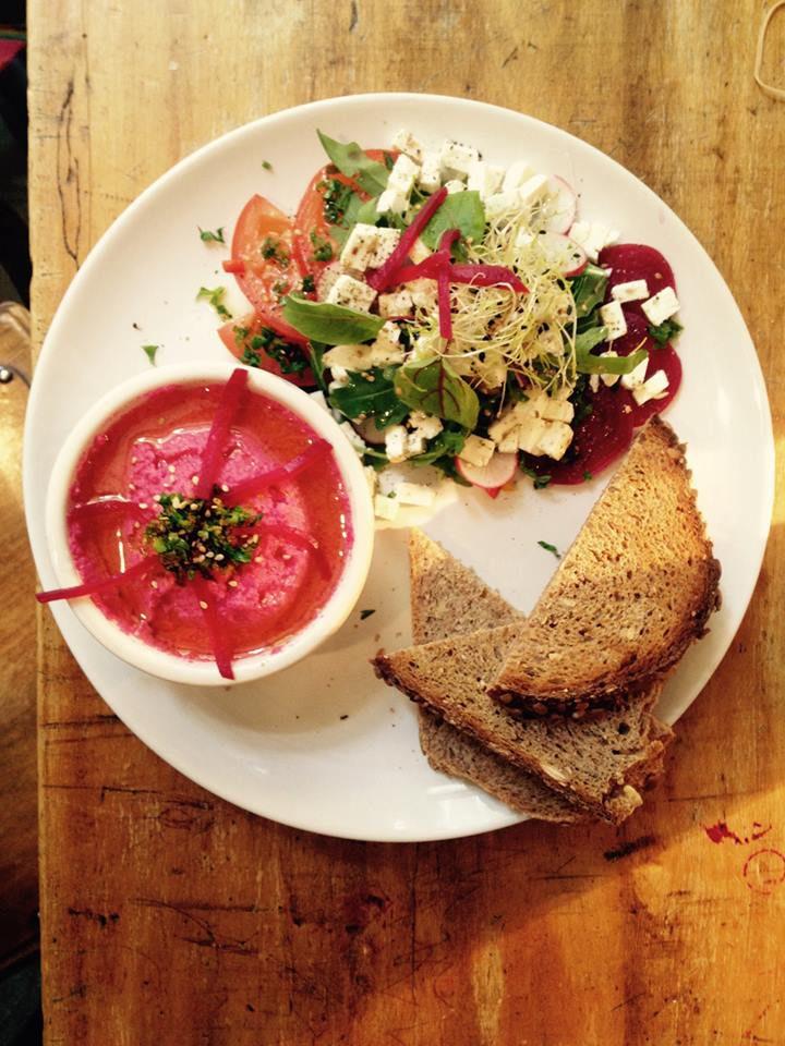 Healthy food in Antwerp