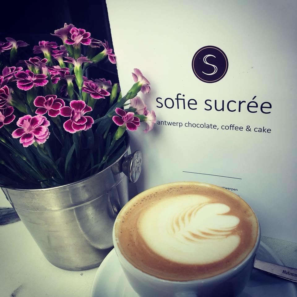 Coffe bars in Antwerp Sofie Sucrée